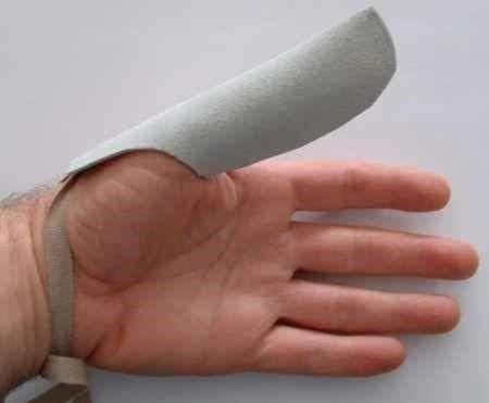 Bőr Ujjvédő 3 méretben