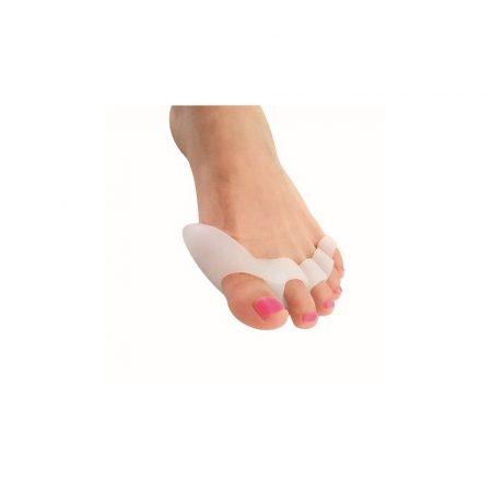 5 ujjas lábujj távtartó bütyökvédővel