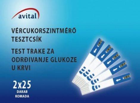 TESZTCSIK AVITAL 50X 2X25DB/DOB