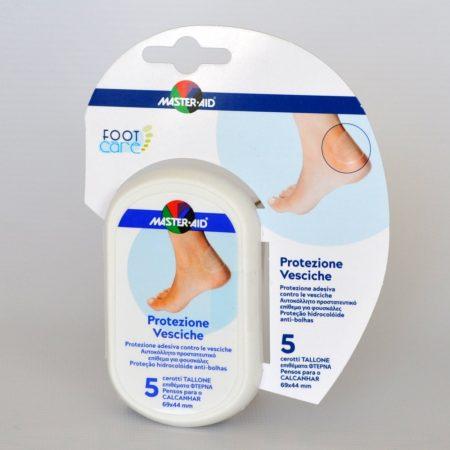 Foot Care vízhólyag tapasz sarokra 5db